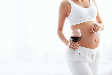 Pregnant Drinking Alcohol And Smoking