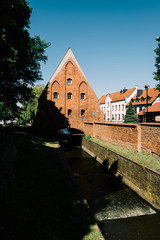 The Little Mill in the Old Town of Gdansk, Pomerania, Poland.