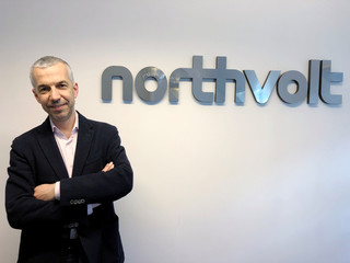 Northvolt co-founder and Chief operating officer Paolo Cerruti poses for a picture in Stockholm