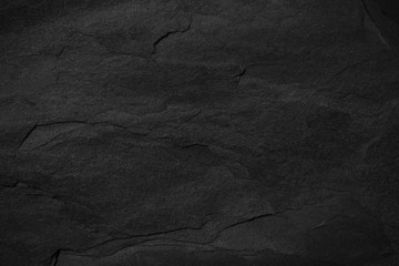 Dark grey black slate background or texture. Wall mural