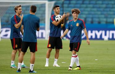 World Cup - Spain Training