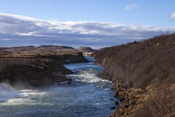 The Tungufljot river in Iceland