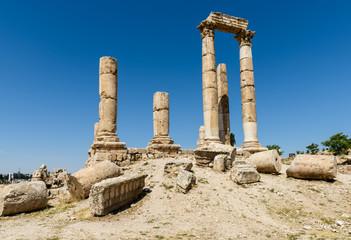 Giordania, Amman, monumenti antica cittadella