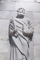 Sculpture in Christian church