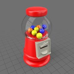 Small gumball machine