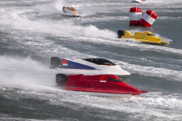 fast powerboat racing