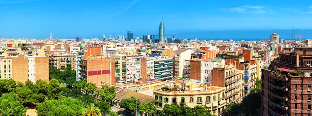 Cityscape Barcelona, Catalonia Spain