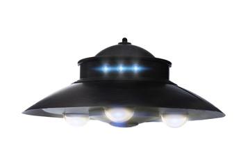 Garden Poster UFO Classic ufo saucer