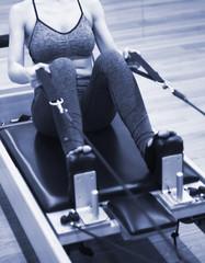 Pilates machine fitness gym
