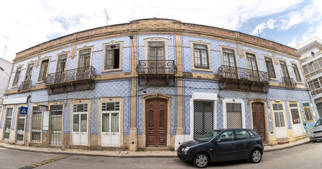 typical buildings of the portuguese cities