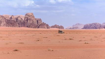 Wall Mural - Giordania, deserto di Wadi Rum