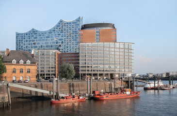 Hamburg Elbphilharmonie und Hafencity
