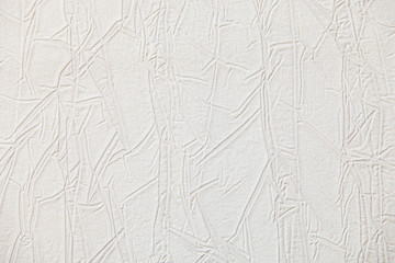 Paper texture backdrop with imitation drawing on skin, close-up.
