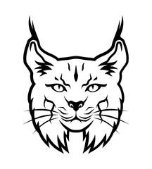 Bobcat outline silhouette