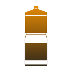 Thermo bottle isolated vector illustration graphic design