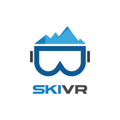 Mountain Ski Virtual Reality Glasses