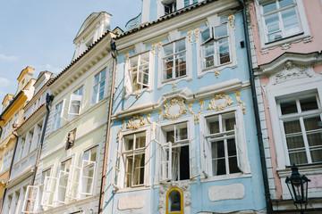 Prague, Czech Republic - historic buildings - decorations