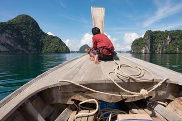 Thailand Bootsfahrt