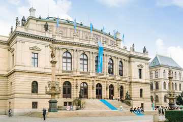 The Rudolfinum, home of the Czech Philharmonic Orchestra.