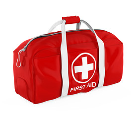 First Aid Kit Isolated