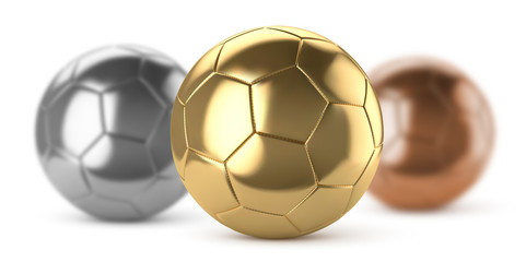 Ballons de football vectoriel 25