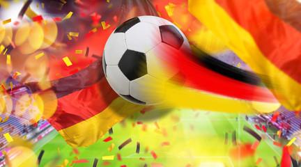 Fussball Tor für Deutschland