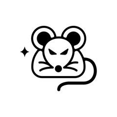 rat/mouse icon (vermin,pest)