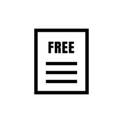 free document / quotation / estimate icon