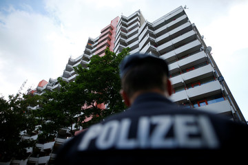 German police searches the apartment of a Tunisian suspect in Cologne