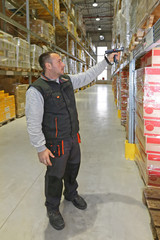 Warehouse Barcode Scanner