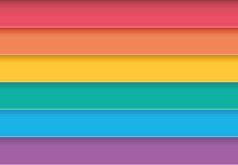 Gay flag rainbow for a colorful background. peace and pride. colored iridescent vector homo wallpaper