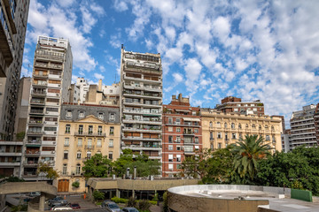 Buildings at Recoleta neighborhood - Buenos Aires, Argentina