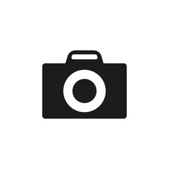 Camera Icon in trendy flat style isolated. Camera symbol for your web site design, logo, app. Vector illustration.