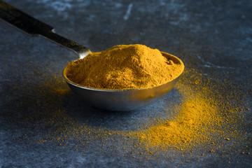 A teaspoon of ground turmeric