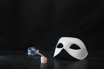 Mask And Candle
