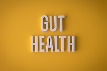 Gut Health sign lettering