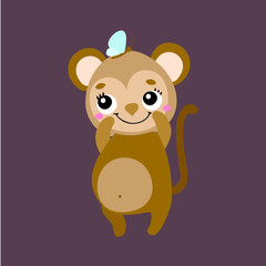 monkey vector icon