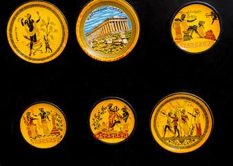 Greek Anicent Design Magnets Athens Greece