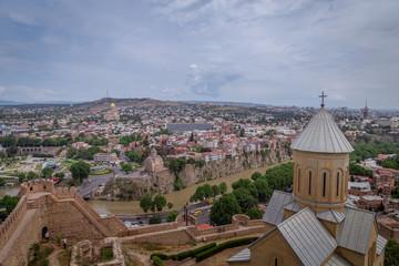 View of Tbilisi, the capital of Georgia
