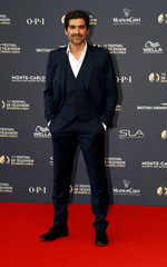 Actor Metalsi poses at the 58th Monte-Carlo Television Festival