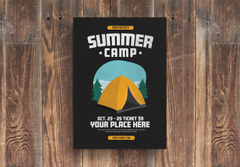 Summer Camp Flyer Layout