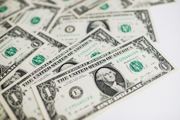 US dollar cash banknote money