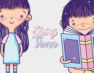 Girls and books