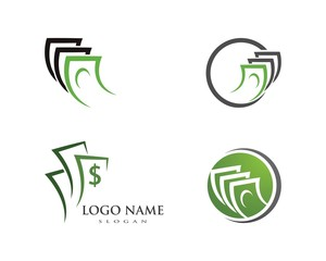money logo vector template