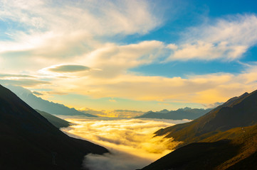 Seas of clouds - sichuan,china