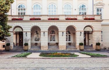 Lviv city hall, Ukraine