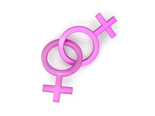 symboles femme féminin lesbienne homosexuelle