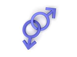 symboles homme masculin gay homosexuel