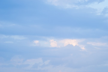 The sky over the beach Leptokarya