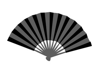 Asian type hand fan
